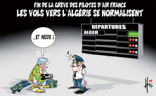 Fin de la grève des pilotes d'air France: Les vols vers l'Algérie se normalisent - Le Hic - El Watan - Gagdz.com