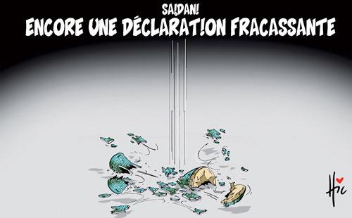 Saidani: Encore une déclaration fracassante - Le Hic - El Watan - Gagdz.com