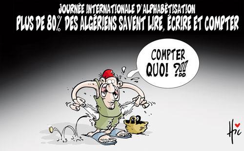 Journée internationale d'alphabétisation: Plus de 80% des algériens savent lire , écrire et compter - Le Hic - El Watan - Gagdz.com