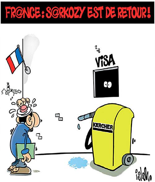 France: Sarkozy est de retour - Islem - Le Temps d'Algérie - Gagdz.com