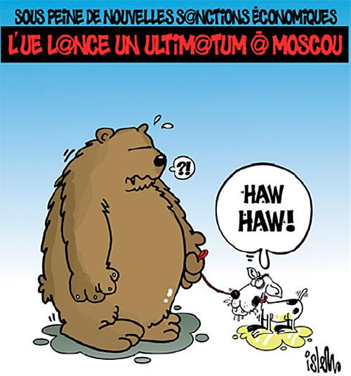 Sous peine de nouvelles sanctions économiques: L'UE lance un ultimatum à Moscou - Islem - Le Temps d'Algérie - Gagdz.com