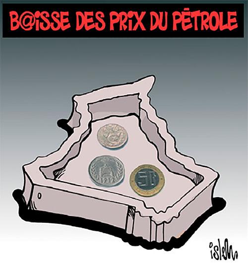 Baisse des prix du pétrole - Islem - Le Temps d'Algérie - Gagdz.com