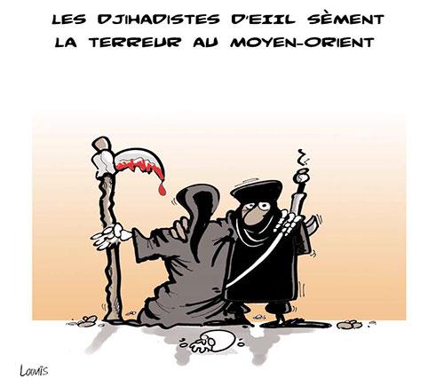 Les djihadistes deeiil sèment la terreur au moyen-orient - Lounis Le jour d'Algérie - Gagdz.com