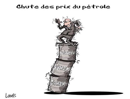 Chute des prix du pétrole - Lounis Le jour d'Algérie - Gagdz.com