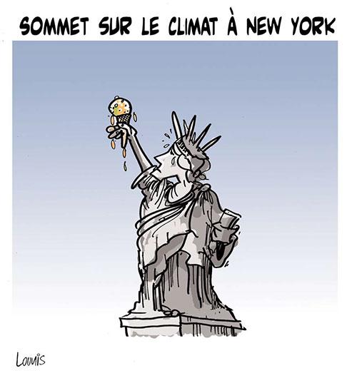 Sommet sur le climat à New York - Lounis Le jour d'Algérie - Gagdz.com