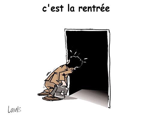 C'est la rentrée - Lounis Le jour d'Algérie - Gagdz.com
