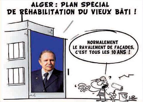 Alger: Plan spécial de réhabilitation du vieux bâti - Vitamine - Le Soir d'Algérie - Gagdz.com