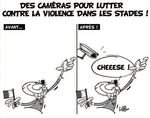 Des caméras pour lutter contre la violence dans les stades - Vitamine - Le Soir d'Algérie - Gagdz.com