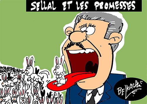 Sellal et les promesses - Belkacem - Le Courrier d'Algérie - Gagdz.com