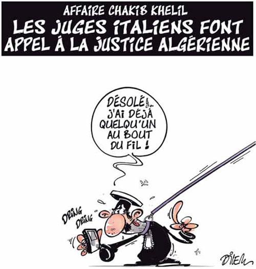 Affaire Chakib Khelil: Les juges italiens font appel à la justice algérienne - Dilem - Liberté - Gagdz.com
