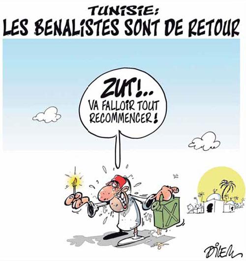Tunisie: Les benalistes sont de retour - Dilem - Liberté - Gagdz.com
