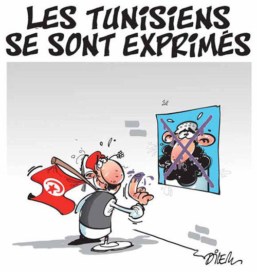 Les Tunisiens se sont exprimés - Dilem - Liberté - Gagdz.com