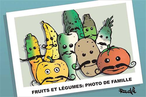 Fruits et légumes: Photo de famille - Ghir Hak - Les Débats - Gagdz.com