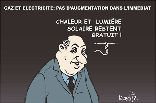 Gaz et électricité: Pas d'augmentation dans l'immediat - Ghir Hak - Les Débats - Gagdz.com