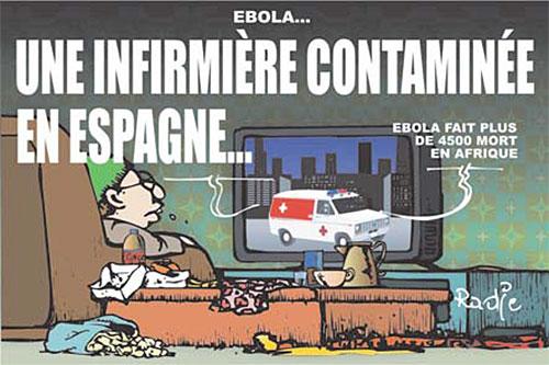 Ebola: Une infirmière contaminée en Espagne - Espagne - Gagdz.com