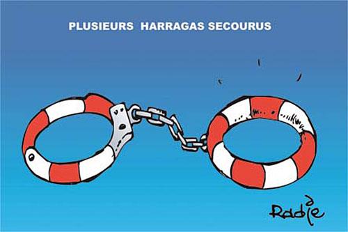 Plusieurs harragas secourus - Ghir Hak - Les Débats - Gagdz.com