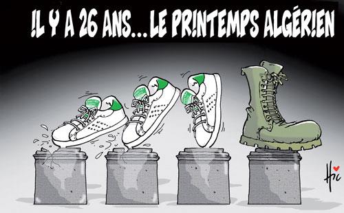 Il y a 26 ans, le printemps algérien - printemps - Gagdz.com