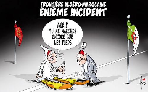 Frontière algéro-marocaine: Enième incident - Le Hic - El Watan - Gagdz.com