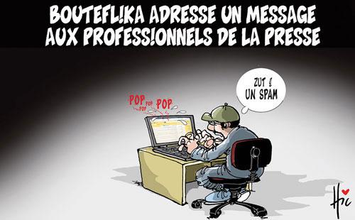 Bouteflika adresse un message aux professionnels de la presse - presse - Gagdz.com