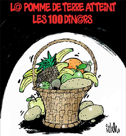 La pomme de terre atteint les 100 dinars - Islem - Le Temps d'Algérie - Gagdz.com