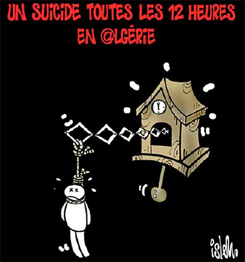Un suicide toutes les 12 heures en Algérie - Islem - Le Temps d'Algérie - Gagdz.com