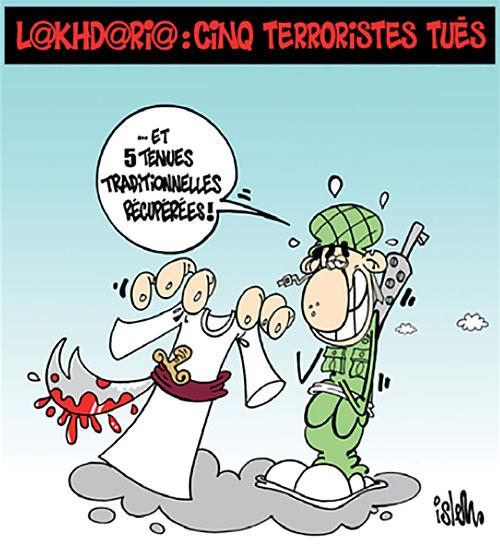 Lakhdaria: Cinq terroristes tués - Islem - Le Temps d'Algérie - Gagdz.com
