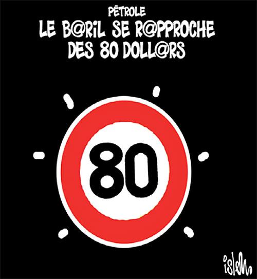 Pétrole: Le baril se rapproche des 80 dollars - Islem - Le Temps d'Algérie - Gagdz.com