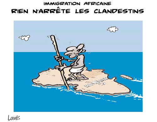 Immigration africaine: Rien n'arrête les clandestins - immigration - Gagdz.com