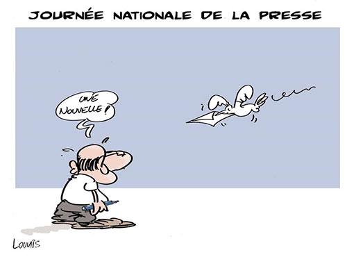 Journée nationale de la presse - Lounis Le jour d'Algérie - Gagdz.com