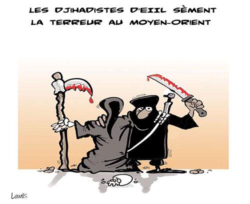 Les djihadistes d'eiil sèment la terreur au moyen-orient - moyenorient - Gagdz.com
