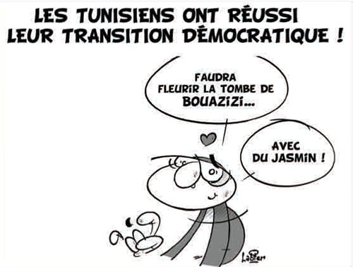 Les Tunisiens ont réussi leur transition démocratique - réussite - Gagdz.com