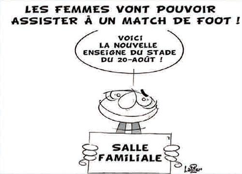 Les femmes vont pouvoir assister à un match de foot - Vitamine - Le Soir d'Algérie - Gagdz.com