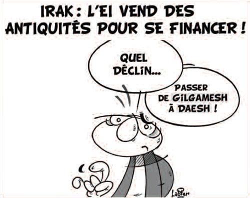 Irak: L'EI vend des antiquités pour se financer - Irak - Gagdz.com