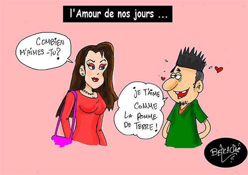 L'amour de nos jours - Belkacem - Le Courrier d'Algérie - Gagdz.com