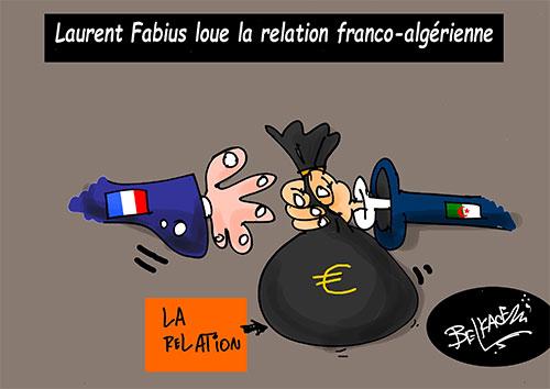 Laurent Fabius loue la relation franco-algérienne - Fabius - Gagdz.com