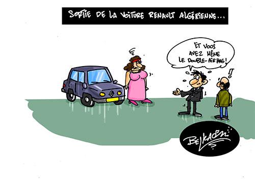 Sortie de la voiture renault algérienne - renault - Gagdz.com