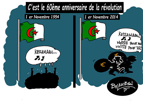 C'est le 60ème anniversaire de la révolution - Belkacem - Le Courrier d'Algérie - Gagdz.com