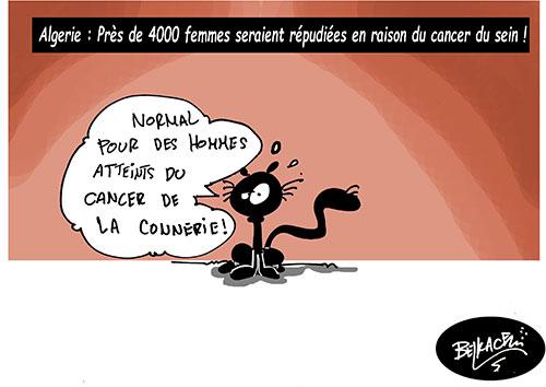 Algérie: Près de 4000 femmes seraient répudiées en raison du cancer du sein - Belkacem - Le Courrier d'Algérie - Gagdz.com