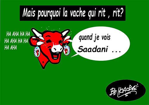 Mais pourquoi la vache qui rit, rit ? - Belkacem - Le Courrier d'Algérie - Gagdz.com