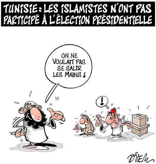 Tunisie: Les islamistes n'ont pas participé à l'élection présidentielle - Dilem - Liberté - Gagdz.com