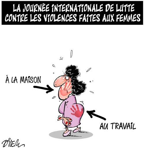 La journée internationale de lutte contre les violences faites aux femmes - Dilem - Liberté - Gagdz.com