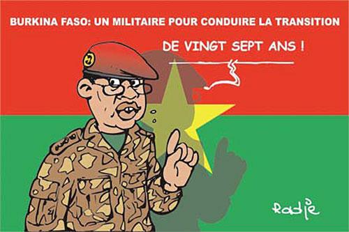 Burkina Faso: Un militaire pour conduire la transition - Burkina - Gagdz.com