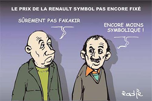 Le prix de la renault symbol pas encore fixé - renault - Gagdz.com