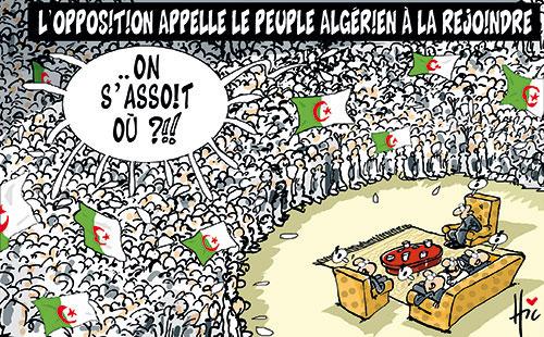 L'opposition appelle le peuple algérien à la rejoindre - Le Hic - El Watan - Gagdz.com
