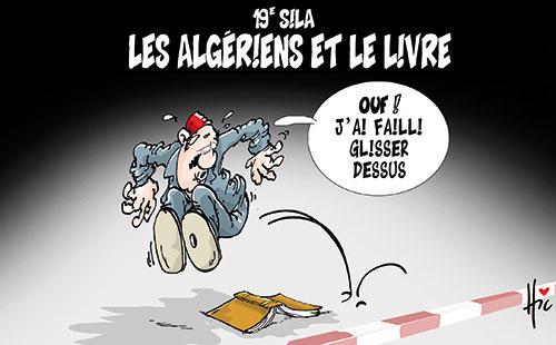 19e sila: Les Algériens et le livre - Le Hic - El Watan - Gagdz.com