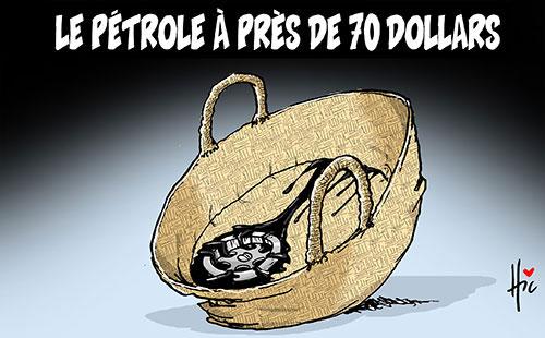 Le pétrole à près de 70 dollars - Le Hic - El Watan - Gagdz.com