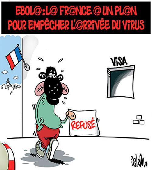 Ebola: La France a un plan pour empêcher l'arivée du virus - Islem - Le Temps d'Algérie - Gagdz.com