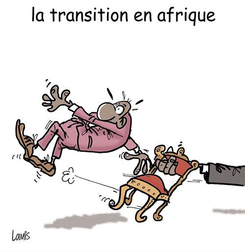 La transition en Afrique - Lounis Le jour d'Algérie - Gagdz.com