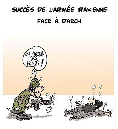 Succès de l'armée irakienne face à daech - Lounis Le jour d'Algérie - Gagdz.com