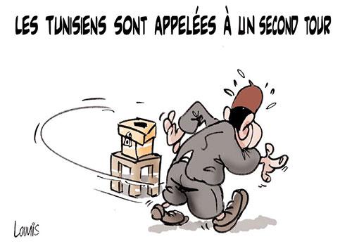 Les Tunisiens sont appelés à un second tour - Lounis Le jour d'Algérie - Gagdz.com
